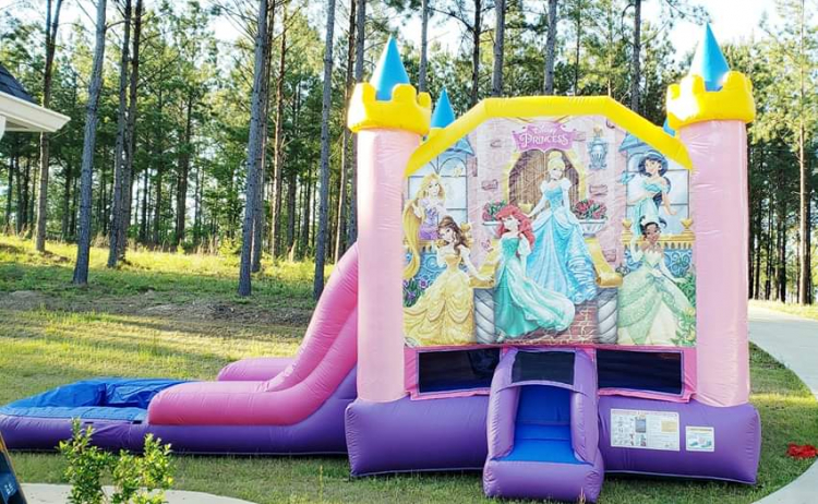 Bounce House/Slide Combos WET