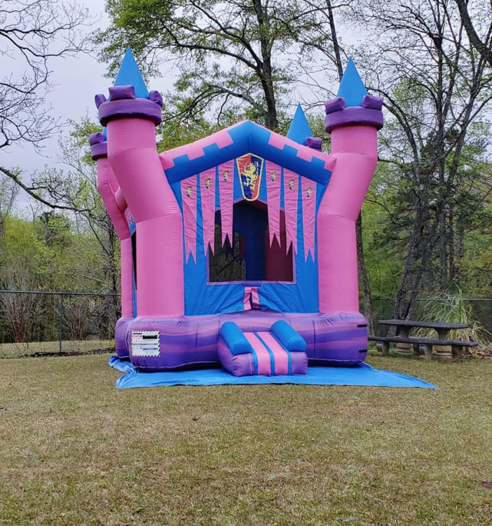 Girl Medieval Bounce House