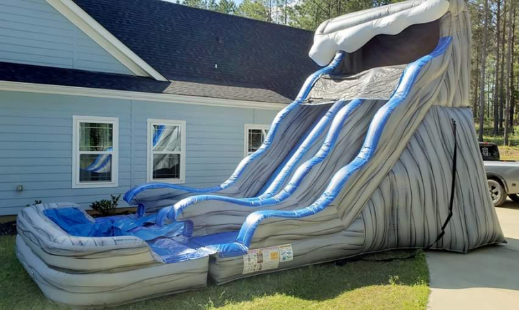 18Ft Rockin Wave Dual Lane Slide
