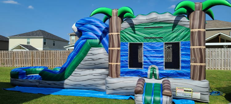 Bounce House/Slide Combos WET