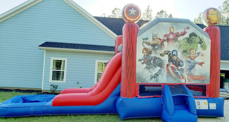 Marvels Avengers Bounce/Slide Combo